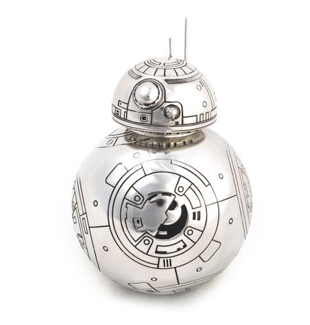 BB8 Bee Bee Eight Secret Stash Pewter Container by Royal Selangor
