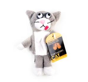 Schrodinger's Cat Finger Puppet & Fridge Magnet Thumbnail 1