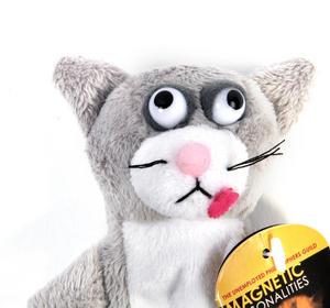 Schrodinger's Cat Finger Puppet & Fridge Magnet Thumbnail 2
