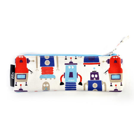 Robots Pencil Case