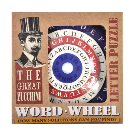 The Great Zucchini Word Wheel