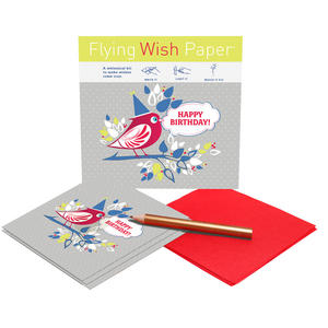 Birthday Birdy - Flying Wish Paper