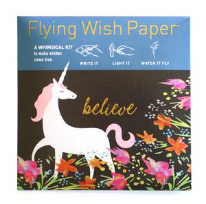 Unicorn - Flying Wish Paper