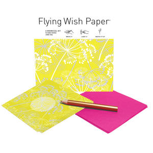 Meadow Yellow - Flying Wish Paper