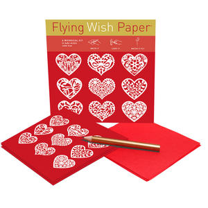 Scarlet Hearts - Flying Wish Paper