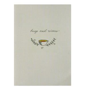 Hugs & Wishes - Flying Wish Paper Kit Greetings Card