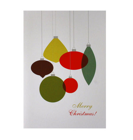 Retro Ornament - Flying Wish Paper Kit Greetings Card