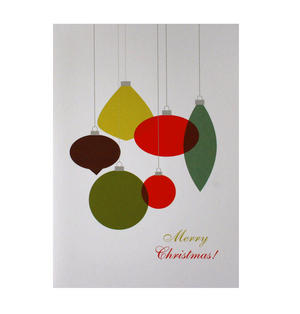 Retro Ornament - Flying Wish Paper Kit Greetings Card Thumbnail 1