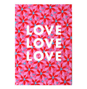Love You - Flying Wish Paper Kit Greetings Card