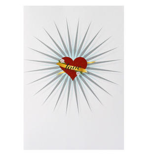 Tattoo Love - Flying Wish Paper Kit Greetings Card