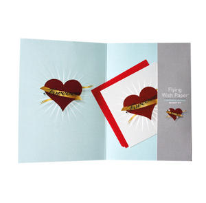 Tattoo Love - Flying Wish Paper Kit Greetings Card Thumbnail 2