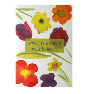 May Bouquet - Flying Wish Paper Kit Greetings Card