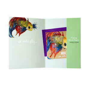 Wishing Fish - Flying Wish Paper Kit Greetings Card Thumbnail 2
