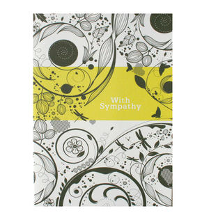 Sympathy Swirl - Flying Wish Paper Kit Greetings Card