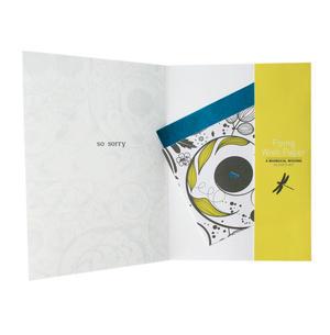 Sympathy Swirl - Flying Wish Paper Kit Greetings Card Thumbnail 2