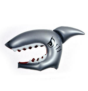 Shark For a Day - Inflatable Shark Head Thumbnail 1