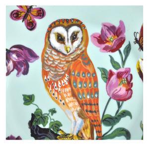 """Owl Melamine Dessert Plate 20cm / 8"""" Diameter Thumbnail 2"""