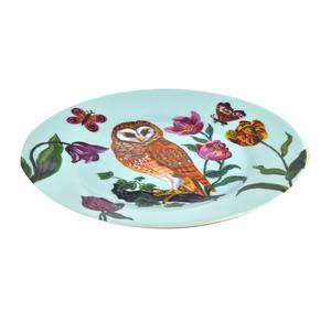 """Owl Melamine Dessert Plate 20cm / 8"""" Diameter Thumbnail 3"""