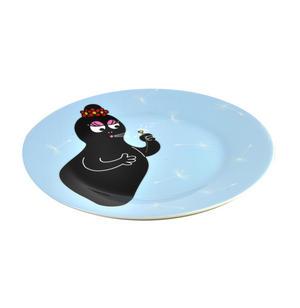 "Barbamama Dandelion - Barbapapa Melamine Dessert Plate 20cm / 8"" Diameter Thumbnail 3"