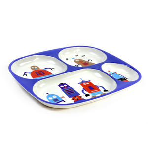 Robots for Dinner - Melamine 4 Compartment Serving Tray Thumbnail 3