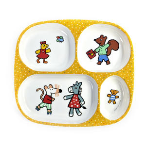 Maisy Mouse - Melamine 4 Compartment Serving Tray