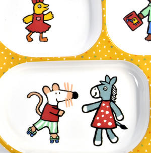 Maisy Mouse - Melamine 4 Compartment Serving Tray Thumbnail 2