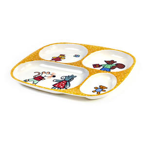 Maisy Mouse - Melamine 4 Compartment Serving Tray Thumbnail 3