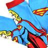 Supergirl Socks - 2 Pairs Set - Logo & Supergirl Designs