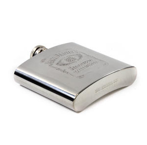 Jack Daniels Stainless Steel 6oz Hip Flask Thumbnail 4