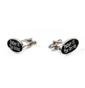 Cufflinks - Father of the Groom in Presentation Case