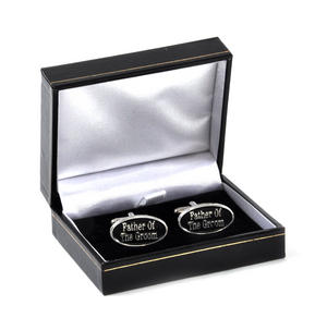 Cufflinks - Father of the Groom in Presentation Case Thumbnail 3