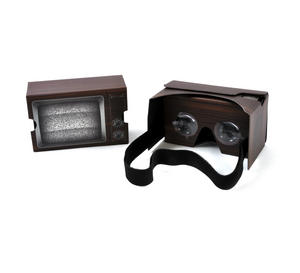 Retro TV Virtual Reality Glasses - Smartphone VR Strap-on Thumbnail 1