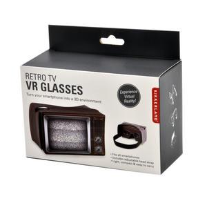 Retro TV Virtual Reality Glasses - Smartphone VR Strap-on Thumbnail 3
