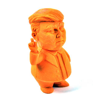 Presidental Eraser - Big Orange Trump Rubber Thumbnail 2