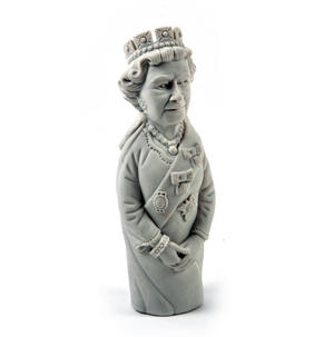 Giant Queen Elizabeth II Eraser - Random Colours