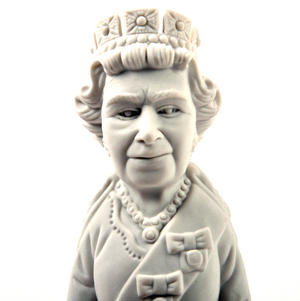 Giant Queen Elizabeth II Eraser - Random Colours Thumbnail 4