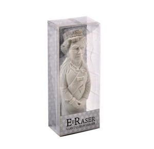 Giant Queen Elizabeth II Eraser - Random Colours Thumbnail 5
