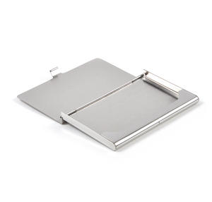 Masonic Business Card Case - High Polished Chrome with Mason Badge Thumbnail 3
