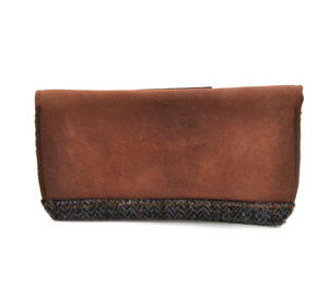 Harris Tweed Brown Outer Hebrides Glasses Case Thumbnail 4