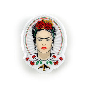 Frida Kahlo Portrait Badge / Pin / Lapel Pin