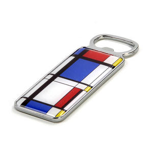 Modern Art Cubist Bottle Opener - After Mondrian Thumbnail 3