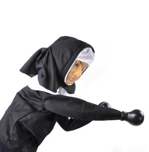 Punching Nun - Boxing Hand Puppet Thumbnail 2