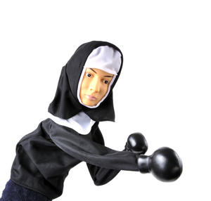 Punching Nun - Boxing Hand Puppet Thumbnail 8