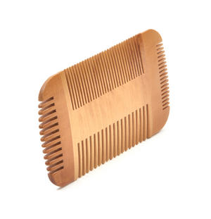 Double Sided Pear Wood Comb Moustache and Beard Grooming Tool Thumbnail 2