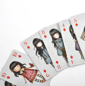 Hatter Deck of Gorjuss Playing Cards Thumbnail 2