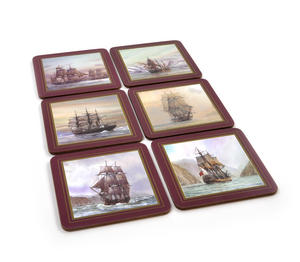 Ocean Explorers - Box Set of 6 Ship Coasters Thumbnail 1