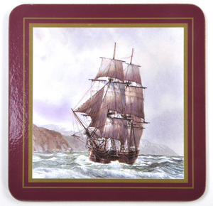Ocean Explorers - Box Set of 6 Ship Coasters Thumbnail 2