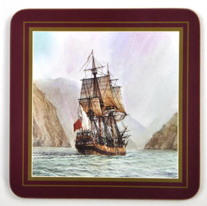 Ocean Explorers - Box Set of 6 Ship Coasters Thumbnail 3