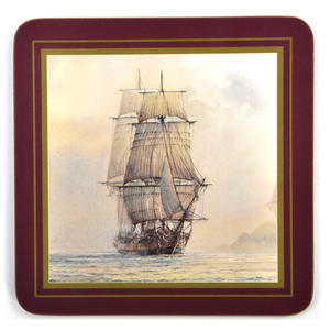 Ocean Explorers - Box Set of 6 Ship Coasters Thumbnail 4