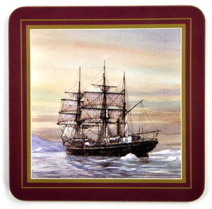 Ocean Explorers - Box Set of 6 Ship Coasters Thumbnail 5
